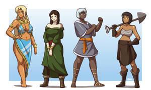 Women of the Hitolan Empire