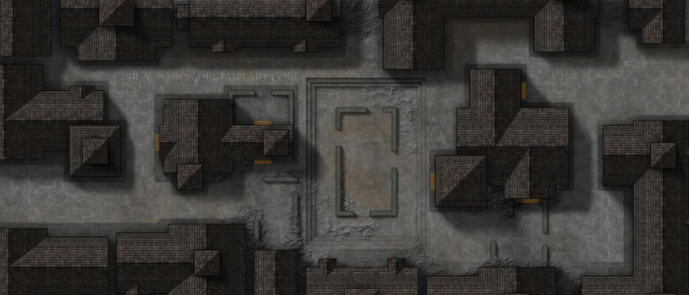 Mordheim Map 3 The Street Fight By Blazbaros On Deviantart