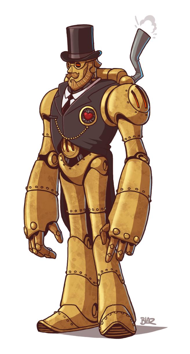 From https://blazbaros.deviantart.com/art/Hercule-Gentleman-Automaton-586060022