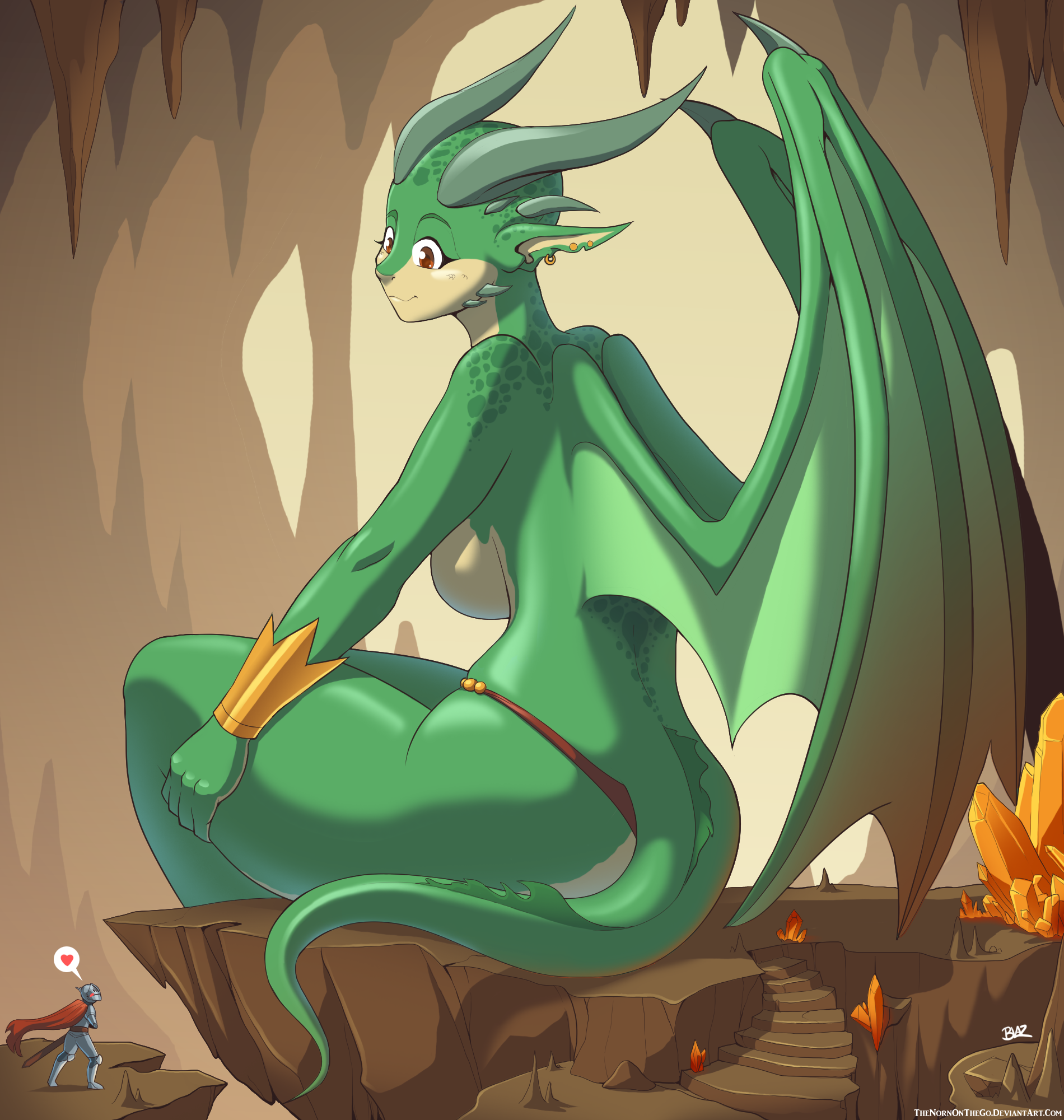 Dragon Girl by Blazbaros on DeviantArt