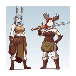 Snow Elves by Blazbaros