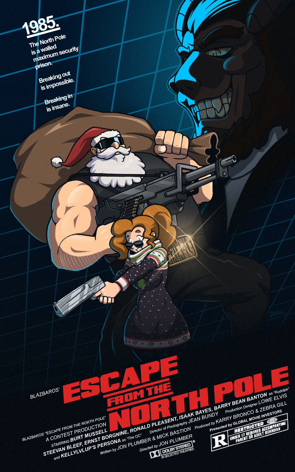 CONTEST ENTRY: Escape from the North Pole by Blazbaros