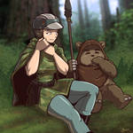 A Quiet Moment on Endor