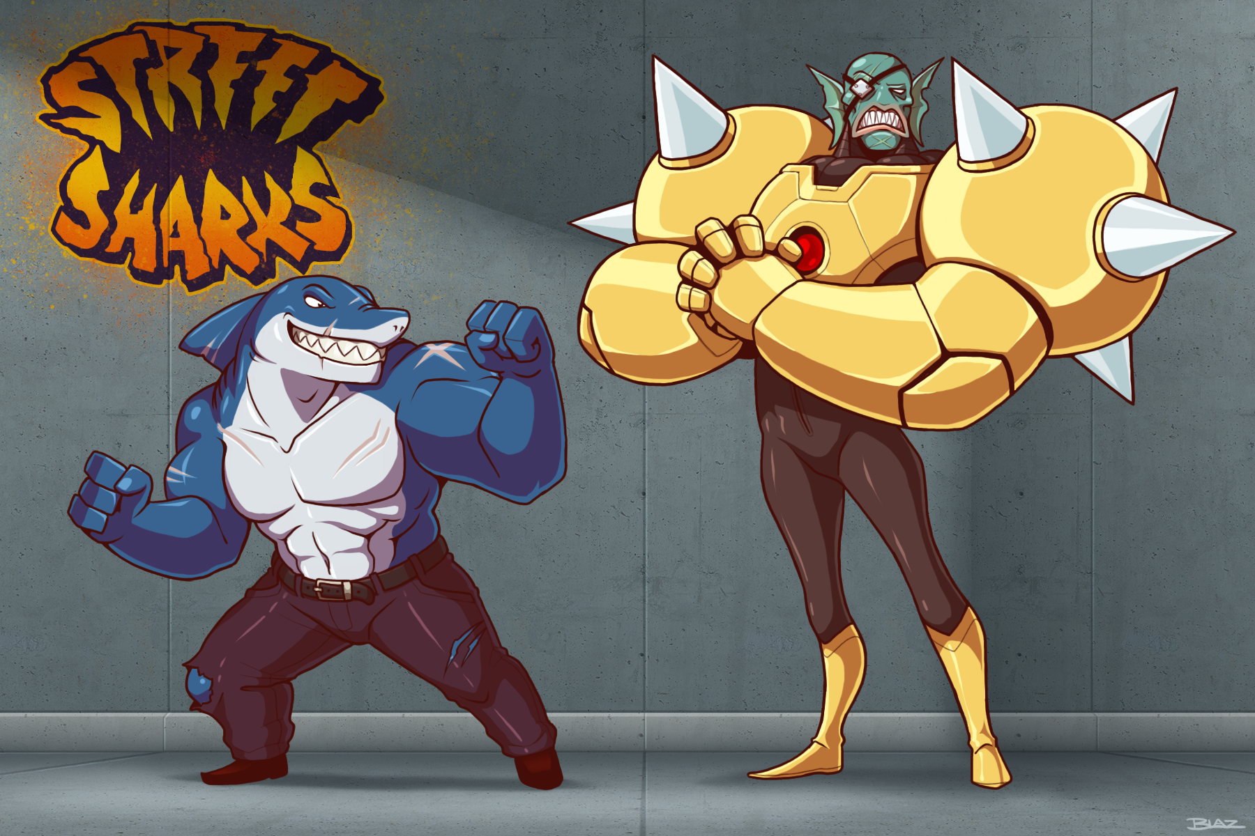Ripster and Dr. Piranoid Redesigns