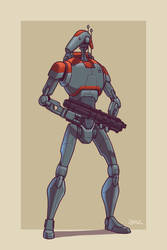 Upgraded B1 Battle Droid