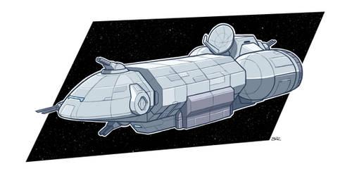 Stealth Ship by Blazbaros