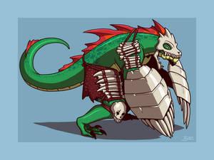 Lizardman Shieldfighter
