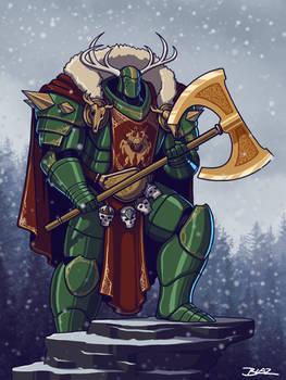 Primarch Arthes Woden of the Wild Hunters Legion