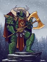 Primarch Arthes Woden of the Wild Hunters Legion by Blazbaros