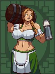 Muscle Barmaid
