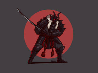 Black Oni by Blazbaros