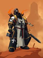 Black Templar by Blazbaros