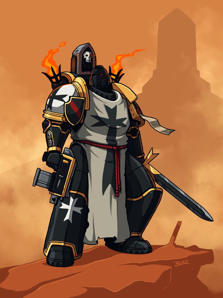 black templar by blazbaros on deviantart