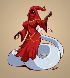 Red Robe Lamia