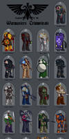 Chap. App.: Legions of the Warmaster's Triumvirate by Blazbaros