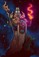 Tzeentch Sorcerer by Blazbaros
