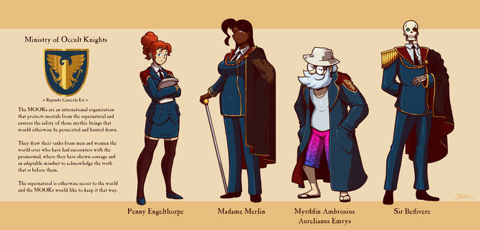 MOOKsverse Support Characters