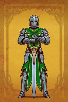 Oath of the Ancients Paladin by Blazbaros