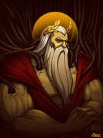 God Emperor of Mankind by Blazbaros
