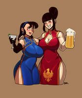 Sandy and Brittany Reswald by Blazbaros