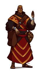 Monk by Blazbaros