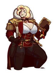 Inquisitor-Countess Natasha Volkov by Blazbaros