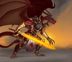 Infernus the Immolator by Blazbaros
