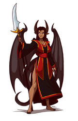 Demon Lady Sasha by Blazbaros