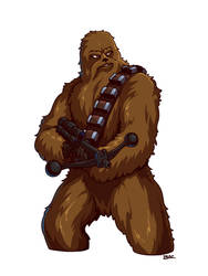 Chewbacca by Blazbaros