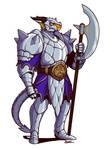 Seris, Dragonborn Fighter