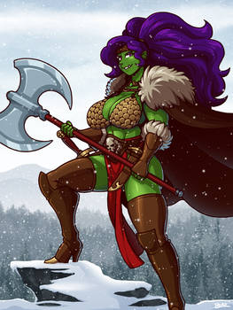 Jade the Barbarian