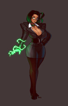 Sci-Fi Secretary, now with lightning