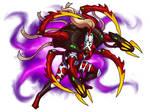 Iselith, Warpspider Phoenix Lord by Blazbaros