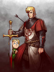 Saint George the Redcrosse Knight