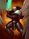 Crusade Era Blood Angel by Blazbaros