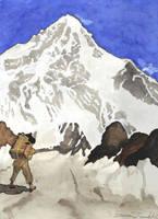 Challenging Sagarmatha by ErilisVampyre