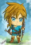Chibi Link (Zelda Breath of the Wild)