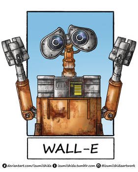 6 Fanart Challenge - WALL-E