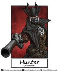 6 Fanart Challenge - Hunter