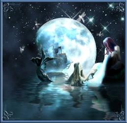.:+the moon+:. by natyismyhero