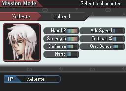 Character Selection: Xelleste by xShadowxXIII