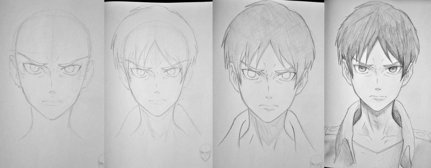 Drawing Eren Jaeger by PoLoBreakEren Jaeger Drawing