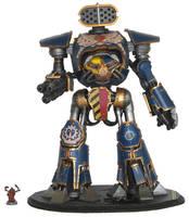 Reaver Titan by precinctomega