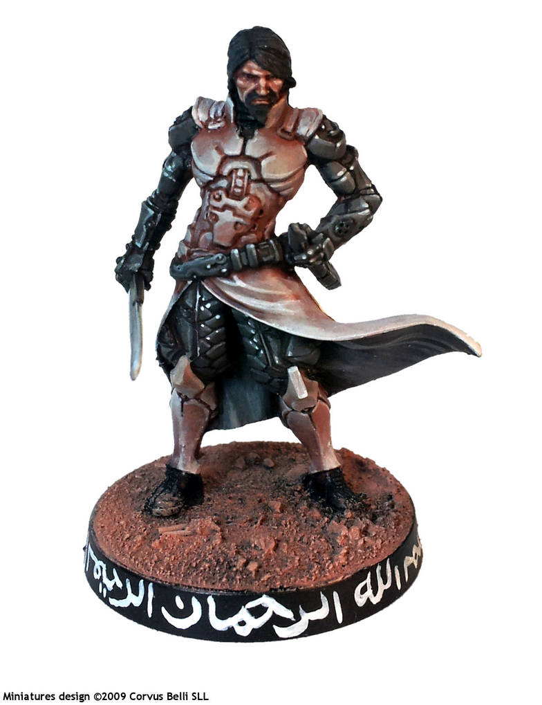 Saladin, for Infinity the Game by Corvus Belli