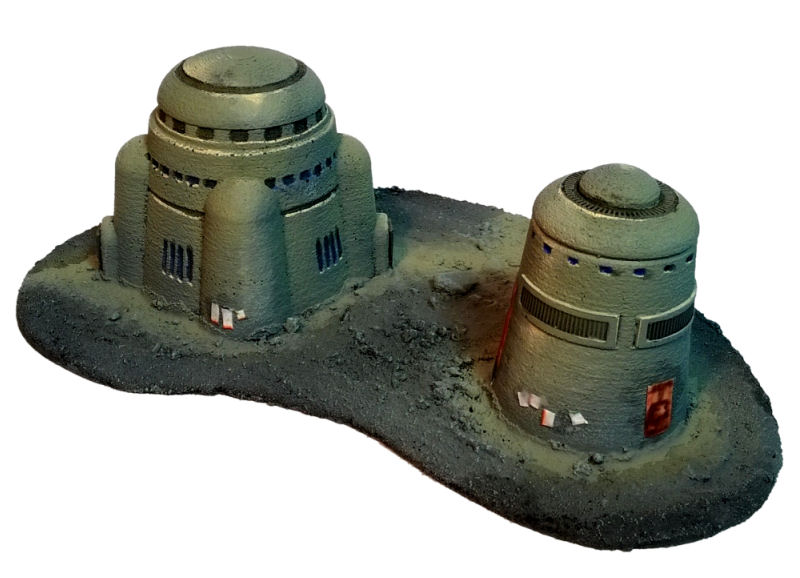 Desert Buildings 2 - Brigade Models 6mm SF by precinctomega