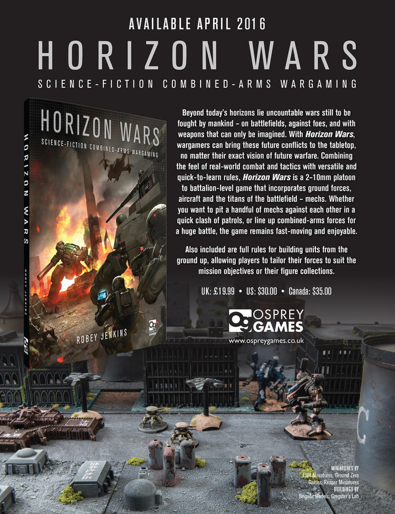 Horizon Wars Promo by precinctomega