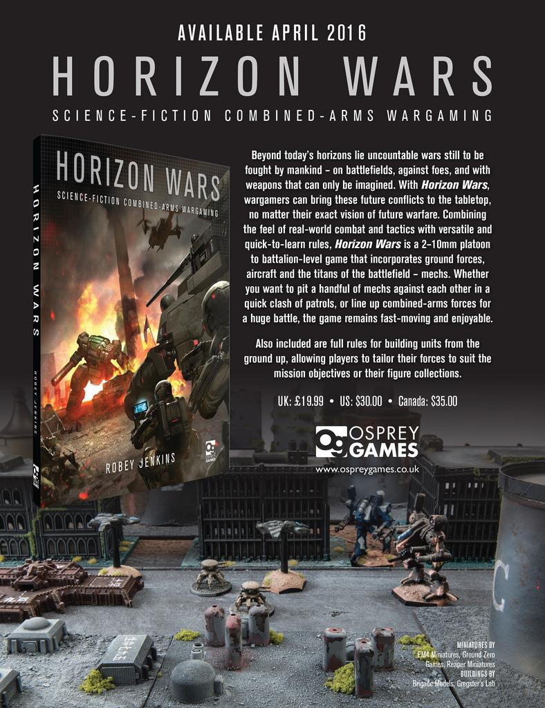 Horizon Wars Promo by precinctomega