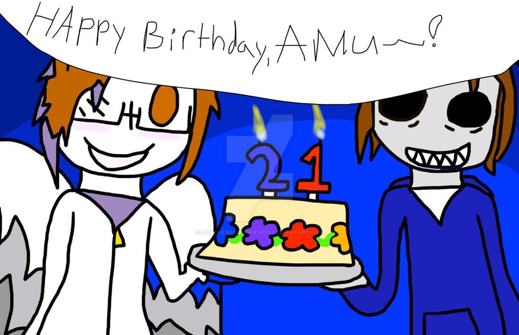 Happy Birthday~! by Cuttheshadowdemon