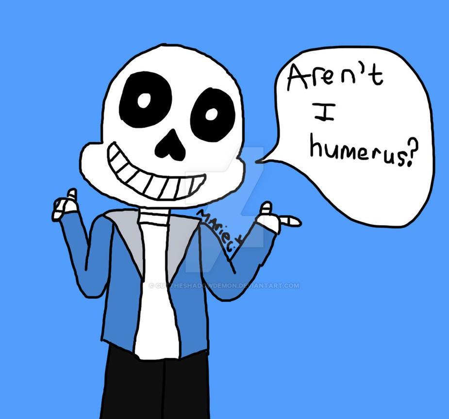 Bone Puns~! by Cuttheshadowdemon