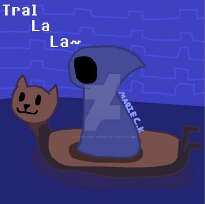 Tral La La~! by Cuttheshadowdemon